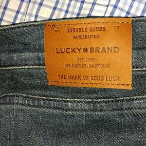 LUCKY BRAND JEANS (410 Athletic slim)